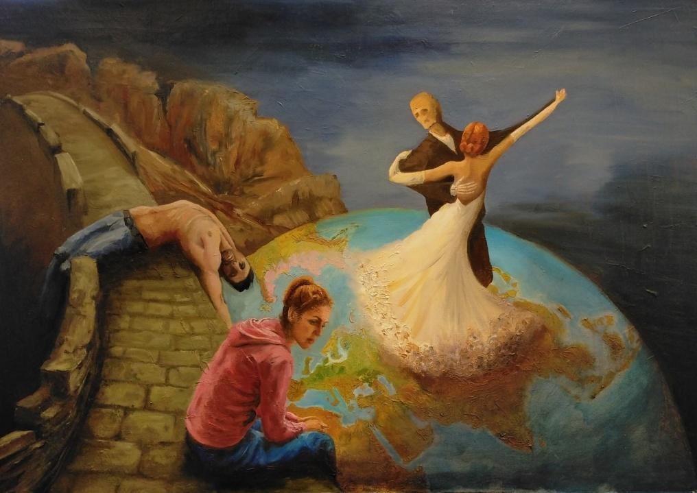 geschilderde voorstellingen